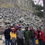 Our research group at Devils Postpile National Monument